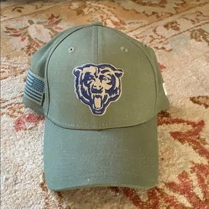 Bears NFL salute to service fitted hat